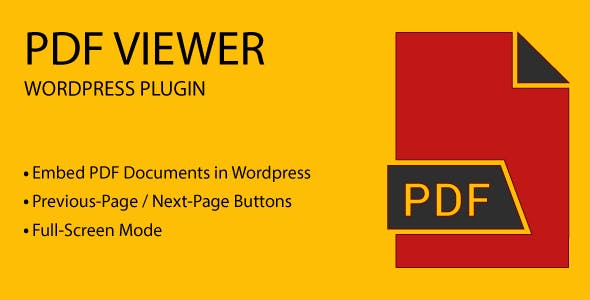 PDF Viewer - Wordpress Plugin