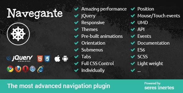 Navegante - CodeCanyon Item for Sale