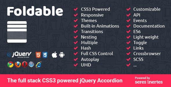 Accordion Menu Plugins, Code & Scripts from CodeCanyon
