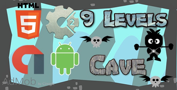 Cave - HTML5 Game (CAPX) - CodeCanyon Item for Sale