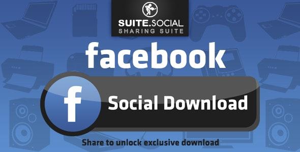 Social Sharer - Facebook Download Locker - CodeCanyon Item for Sale