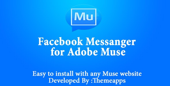 Facebook Messenger Business Maker  for Adobe Muse - CodeCanyon Item for Sale