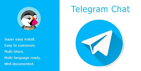 Telegram Chat - Live chat with your customers