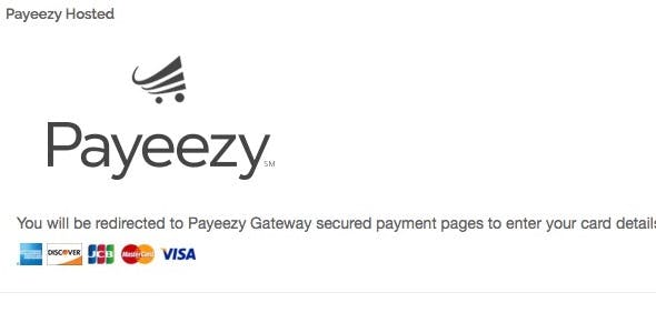 Magento First Data Payeezy Hosted