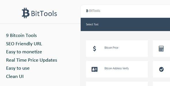 BitTools - Bitcoin Tools
