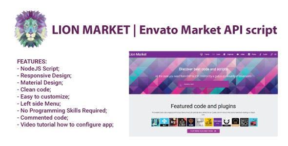 Lion Market | Envato Market API - CodeCanyon Item for Sale