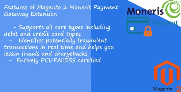 Moneris payment gateway Magento2