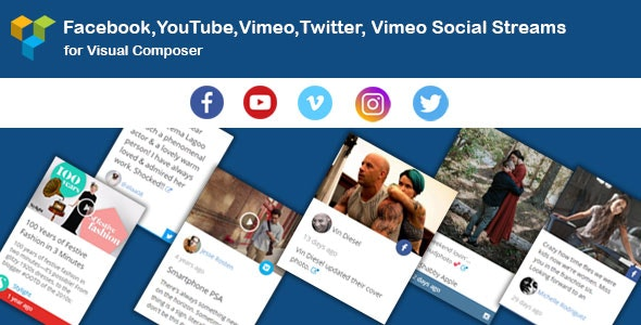 WPBakery Page Builder - Social Stream (formerly Visual Composer) - CodeCanyon Item for Sale