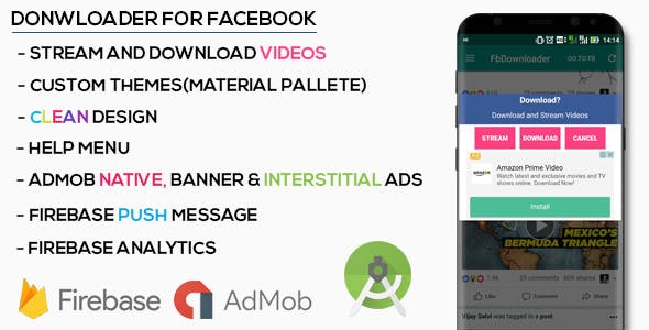 Make A Facebook App With Mobile App Templates from CodeCanyon