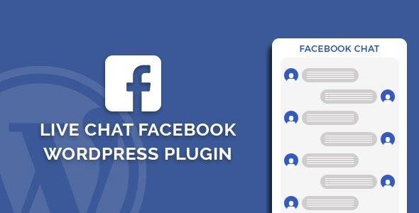 Live Chat Facebook WordPress Plugin - CodeCanyon Item for Sale