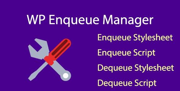 WP Enqueue Manager