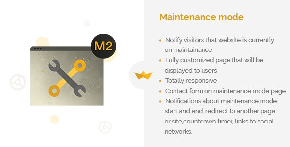 Maintenance Mode - CodeCanyon Item for Sale
