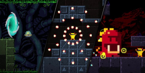 Agent Banie - HTML5 Action Platformer Game - CodeCanyon Item for Sale