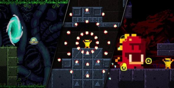 Agent Banie - HTML5 Action Platformer Game by Javanie