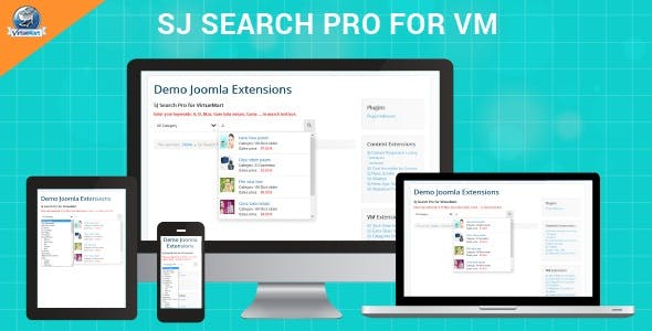 Search Pro For VirtueMart - Responsive Ajax Search Module