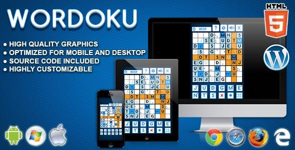 Wordoku - HTML5 Logic Game