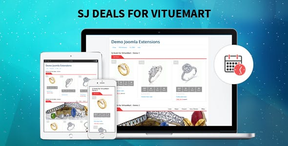 Deals for VirtueMart - Advanced Joomla Deal Module