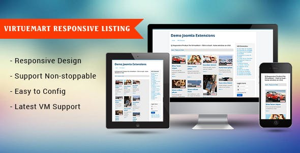 Responsive Product for VirtueMart Module