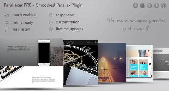 Parallaxer - Parallax Effects on Content        Nulled