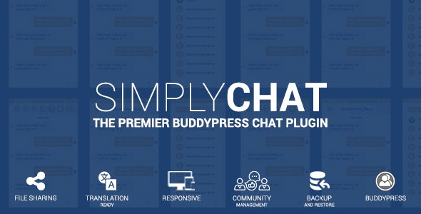 SimplyChat for BuddyPress - CodeCanyon Item for Sale