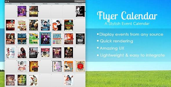 Flyer Calendar - CodeCanyon Item for Sale