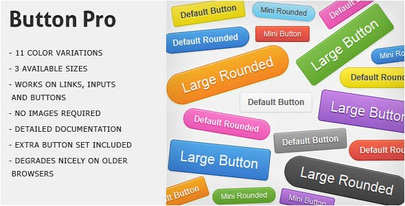 Button Pro - CSS3 Buttons        Nulled