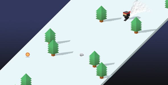 Sky Ski - Html5 AdMob Ready Endless Construct 2 Game - Capx