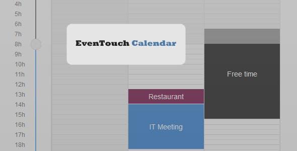 EvenTouch Calendar