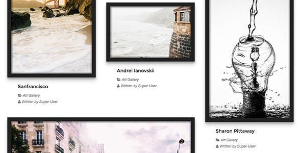 Art Gallery - TZ Portfolio+ Gallery