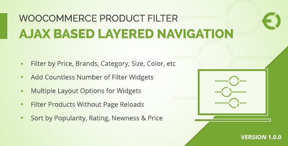 WooCommerce Product Filter - Ajax Layered Navigation - CodeCanyon Item for Sale