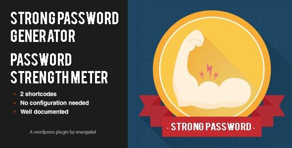 Wp Password Generator & Strength meter - CodeCanyon Item for Sale