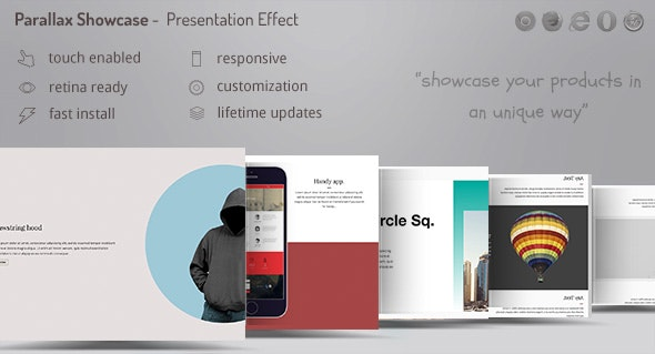 Parallax Showcase Effects - Present your products /w WooCommerce - CodeCanyon Item for Sale