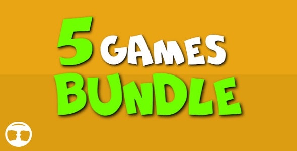 5 Games Bundle №1 - CodeCanyon Item for Sale