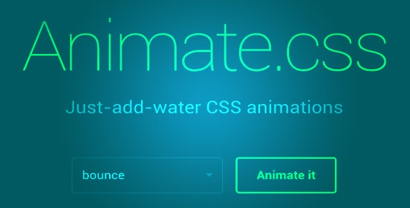 Animate CSS for Adobe Muse - CodeCanyon Item for Sale
