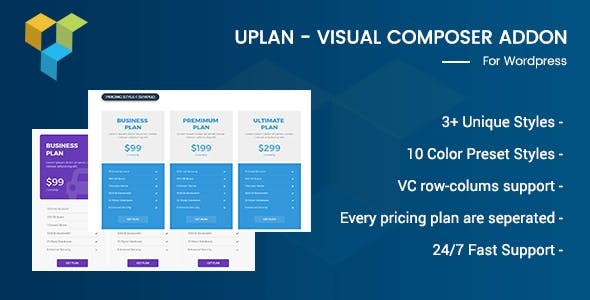 Uplan - Visual Composer Addon