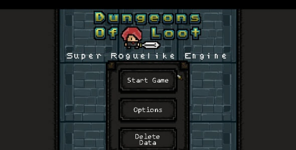 Super Roguelike Engine - Desktop Edition - For Construct 2 - CodeCanyon Item for Sale