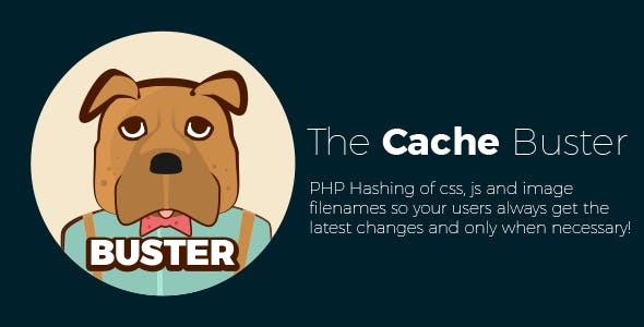 BUSTER - Ensure users always get the latest changes to CSS/JS/img's & more using hash based filename