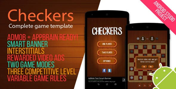 Android Checkers Game with Admob