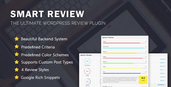 Smart Review - WordPress Review Plugin