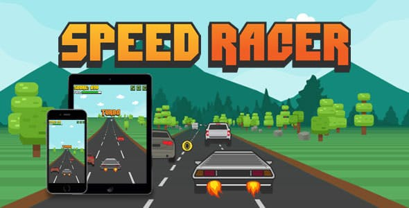 Speed Racer - HTML5 Game