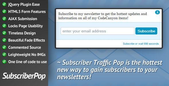 Subscriber Traffic Pop