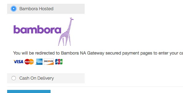 Magento1 - Bambora NA Hosted integration