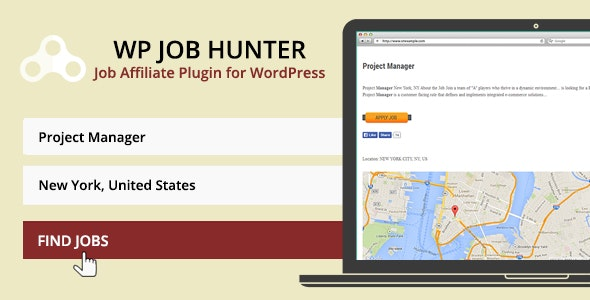 WP Job Hunter - WordPress Job Board Plugin - CodeCanyon Item for Sale