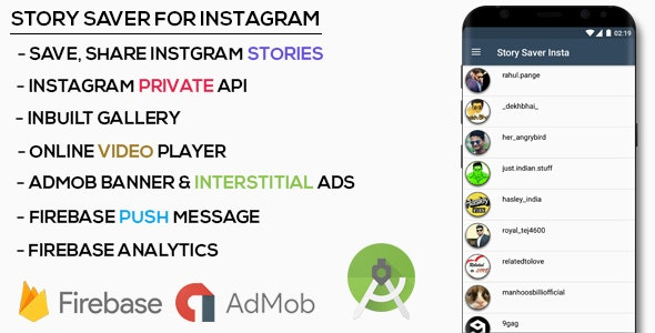 Story Saver for Instagram by TechX1406 | CodeCanyon