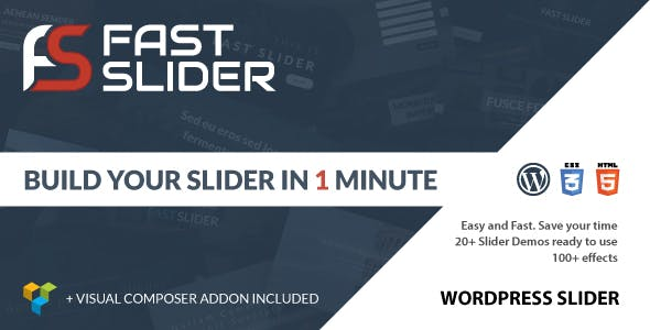 Fast Slider - Easy and Fast - Slider Plugin for Wordpress