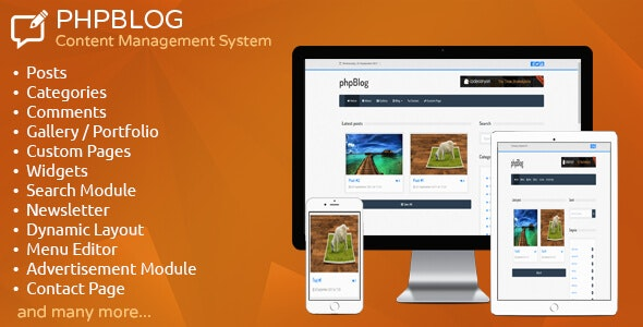 phpBlog - Content Management System by Antonov_WEB | CodeCanyon