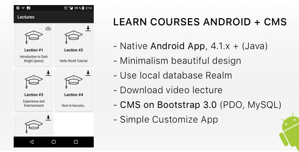LEARN Courses Android + CMS