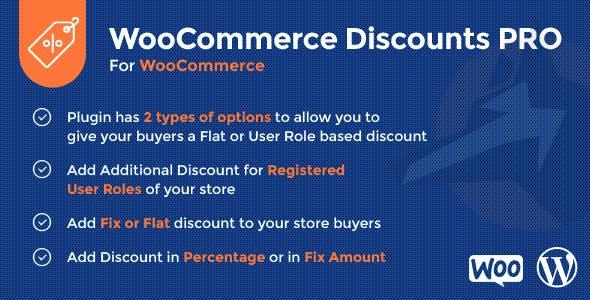 WooCommerce Discounts PRO