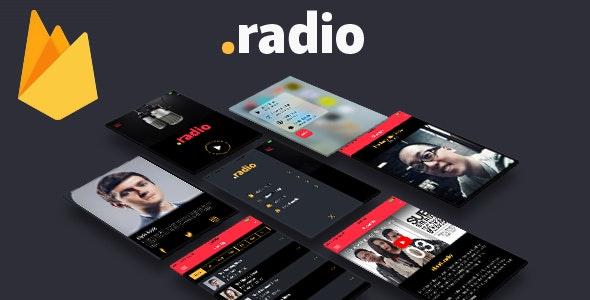 .radio - Full Ionic Application - CodeCanyon Item for Sale