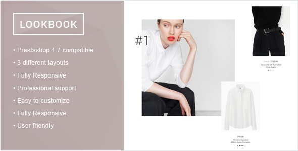Prestashop 1.7 Lookbook - CodeCanyon Item for Sale